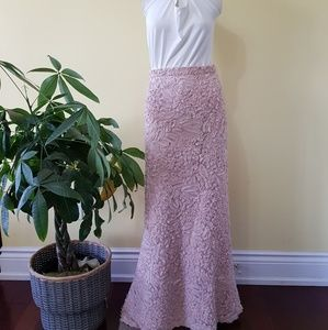 Vintage Skirts - 🔥HP🔥Vintage Ross Mayer Sequin Maxi Mermaid Skirt
